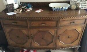 Antique Jacobean sideboard Bell Post Hill Geelong City Preview