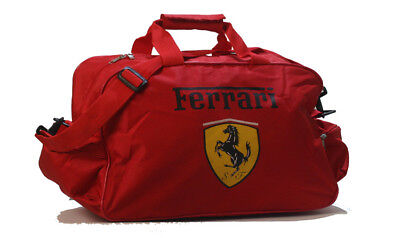 FERRARI TRAVEL RED / GYM / TOOL / DUFFEL BAG spider coupe f430 360 f355 comprar usado  Enviando para Brazil
