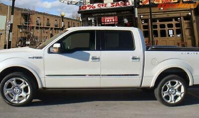 Stainless Body Side Molding Trim 2009-2014 F150 SuperCrew Cab 4 PC Doors  1.5''