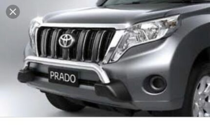 Toyota Prado nudge bar