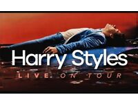 Harry styles tickets 12/4/18 at 02 block a2 row N VIP