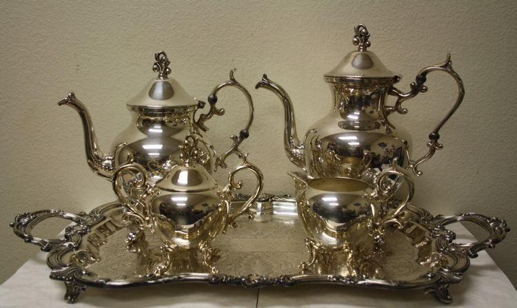 sell silver tea set