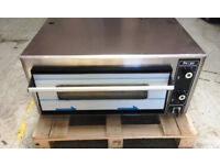 CANMAC - PIZZA OVEN - DOUBLE DECK - ELECTRIC SINGLE PHASE SUPER PIZZA ELECTRIC PIZZA OVEN