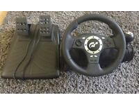 Logitech driving force PRO for PS1, 2 and 3