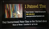 I PAINTED THAT PAINT PARTIES -  MOVING TO THE AREA NEAR YOU