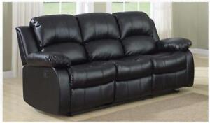 Today Special Air Leather Recliner Sofa Regular $899.99 Sale Price = $599.99
