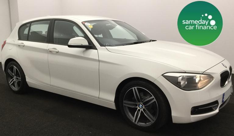 £223.01 PER MONTH 2012 WHITE BMW 118D 2.0 Sport 5 DOOR MANUAL DIESEL