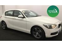 £172.12 PER MONTH 2012 WHITE BMW 118D 2.0 SPORT 5 DOOR MANUAL DIESEL