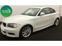 ONLY £183.31 PER MONTH WHITE 2010 BMW 118D M SPORT COUPE 2 DOOR DIESEL MANUAL