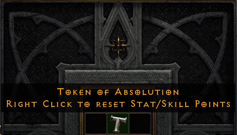 Diablo 2 Resurrected D2 - Token Of Absolution Reset Stats/Skills - Softcore PC - $14.99