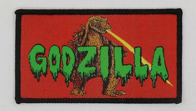 PATCH  - GODZILLA - Gojira, Kaiju movie monster - woven iron-on king of monsters