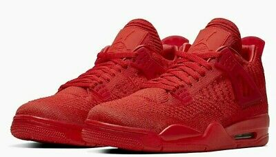 Nike AIR JORDAN 4 FLYKNIT AQ3559-600 Men's Shoe 'UNIVERSITY RED'  sz 8-14