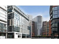 GORGEOUS 2 BED, 2 BATHROOM FLAT in Merchand Square. W2 Views over the Grand Union Canal and London.