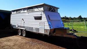Offroad Pop Top Caravan with bunks + toilet and shower Donnybrook Donnybrook Area Preview