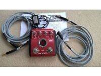 ZOOM B2 BASS MULTI EFFECTS PEDAL