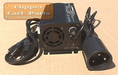 NEW Club Car 48 Volt Golf Cart Battery Charger Style (5 amp) W/ Powerdrive Plug 48 Volt Power Drive