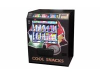 chilled snack and can coin enrty change given