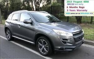 FINANCE FROM $43 PER WEEK* - 2012 PEUGEOT 4008 ACTIVE 4X2 AUTO LOAN Parramatta Parramatta Area Preview