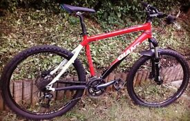 Giant mens mountain bike large (not kona, specialized, carerra, trek)
