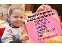 Home-based Childcare available (including SUMMER HOLIDAYS!)