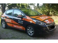 BSM Trainee Driving Instructor.
