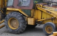 Tires WANTED for Backhoe