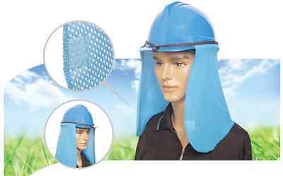 Hard Hat SUN SHADE - Band Type Light Blue Nara Jikimi Best Shade NEW (Best Horticulture Lights)