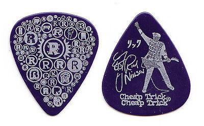 Cheap Trick Rick Nielsen Signature Blue R's Guitar Pick - 2010 Tour