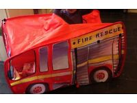 Chad Valley Fire engine Tent