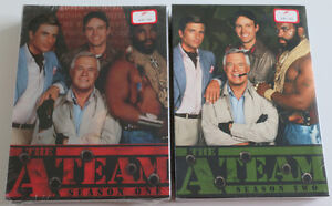 The A Team  season 1 and 2 DVD s