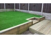 Garden & landscaping services paving fencing turfing decking drop kerps driveways walls