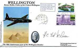 WWII-Vickers-Wellington-Barnes-Wallis-cover-SIGNED-Francis-Red-McLaren