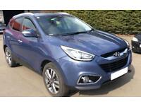 HYUNDAI IX35 BLUEBERRY 1.7 CRDI PREMIUM STATIONWAGON DIESEL FROM £45 PER WEEK!