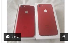 I phone 7 (red) edition **ALL NETWORK**