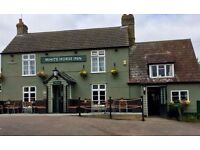 Head Chef White Horse Inn Barton Cambridge
