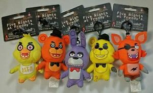 Five Nights at Freddy's Collector Clips Plush 5 inch