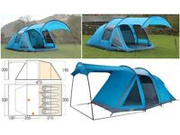 Blue Vango ES5050 5 berth tent