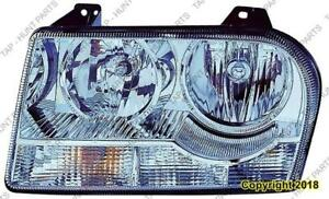 Head Lamp Driver Side 3.5L High Quality Chrysler 300 2005-2007
