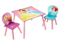 princess table n 2 chairs