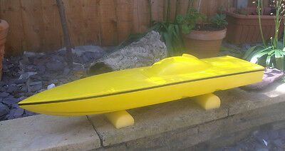 rc boat hull Tomahawk 32 for electric or nitro power