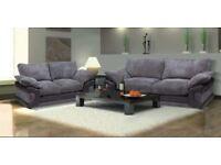 Brand New HUGO 3+2 Fabric Sofa Set
