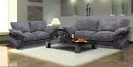 Brand New SPRING 3+2 Fabric Sofa Set On Sale