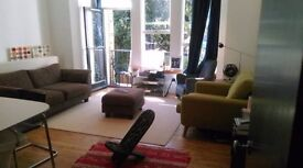 2 bright rooms in spacious flat that's walking distance from Denmark Hill and Peckham Rye
