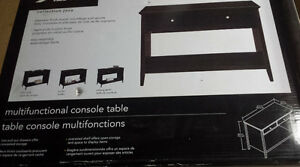 Table Console Multifonctions  Neuve 139$ Taxes Incluses