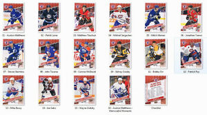 2017 Hockey Day in Canada - UD - Complete hockey card set