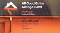 Gutters, Siding, Soffit and Facia