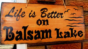 Personalized hand painted wood sign Kawartha Lakes Peterborough Area image 6