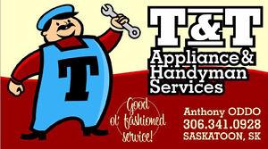 T & T APPLIANCE & HANDYMAN SERVICES