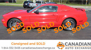2008 Ford Mustang GT Coupe **SOLD USING CANADIAN AUTO EXCHANGE**