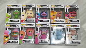Funko Pop Vinyl Figures Muppets Miss Piggy Kermit Fozzie Animal
